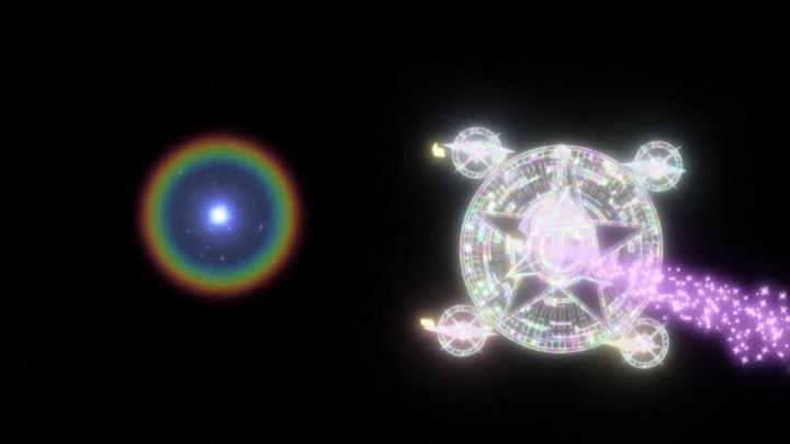 放課後のプレアデス 光速の描写