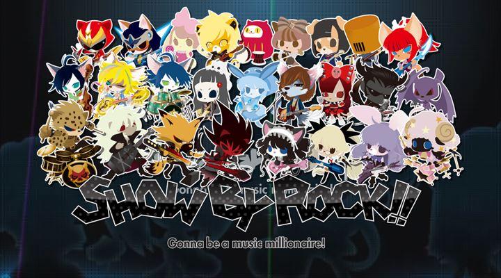 show by rock ゲーム版のサブタイトル