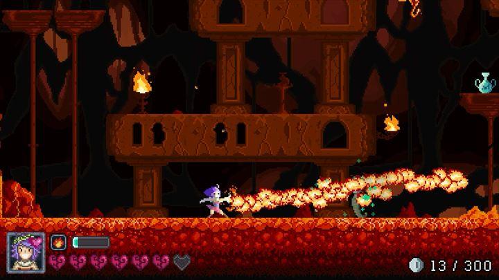 Olympia Rising 炎の魔法