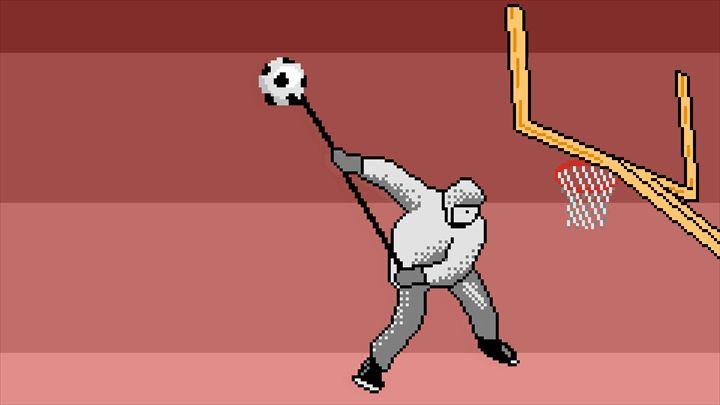 Super Slam Dunk Touchdown_hokkeydunk ホッケー選手だってダンクしたい