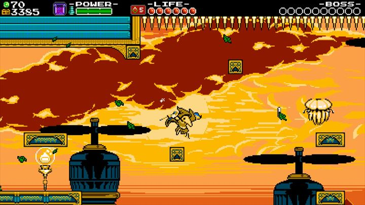 shovel knight plague of shadows プロペラステージ