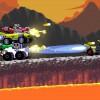 【Intergalactic Race Warriors】ハイテンションな2D横スクロールのバトルレーシングがGreenlightに登場