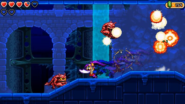 Shantae and the Pirate's Curse 探索型2Dアクション