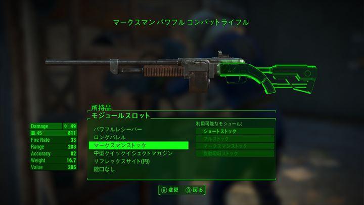 Fallout4 武器の制作