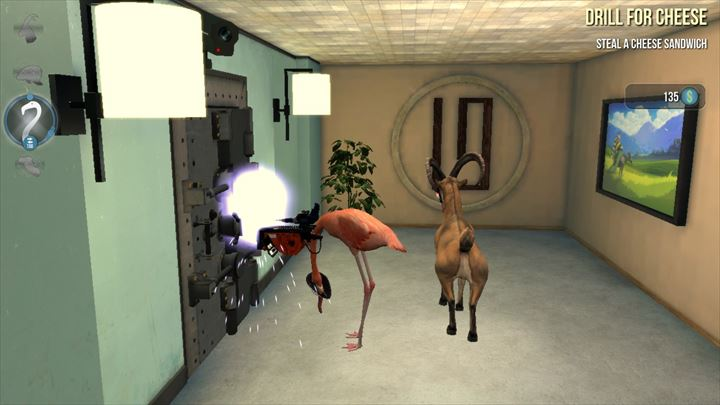 Goat Simulator PAYDAY 金庫破り