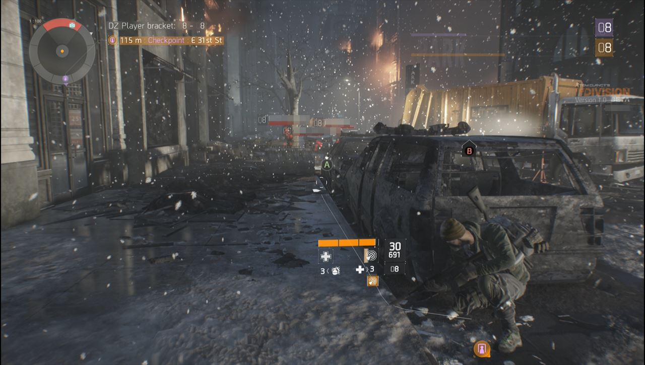 The division 赤い名前はローグの集団