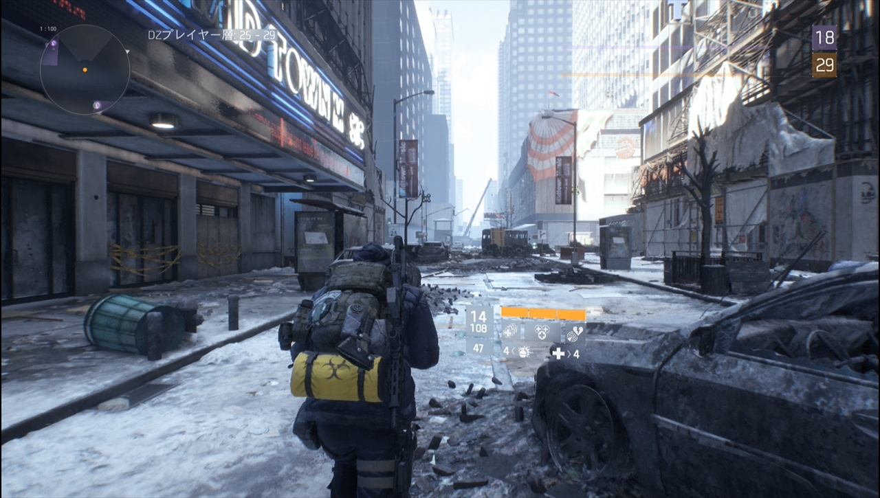 the division 荒れ果てたダークゾーン奥地