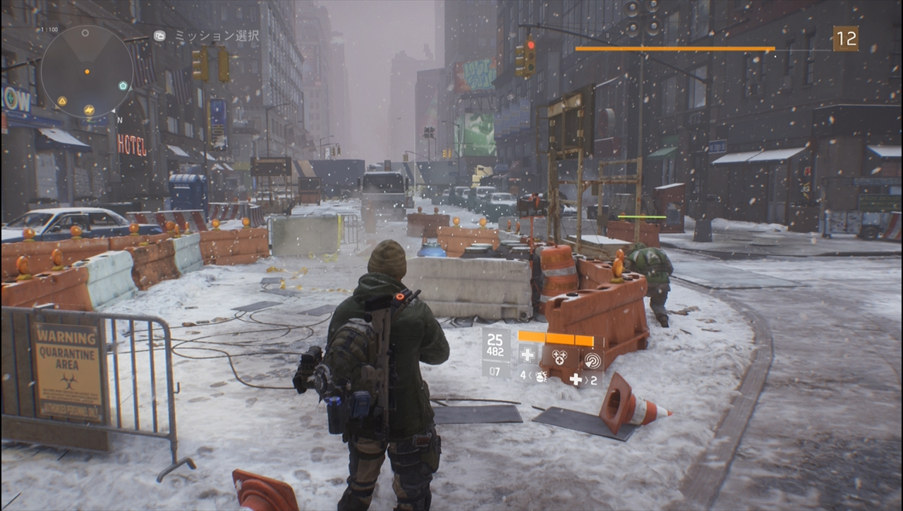 the division 逸材な世界観と舞台設定