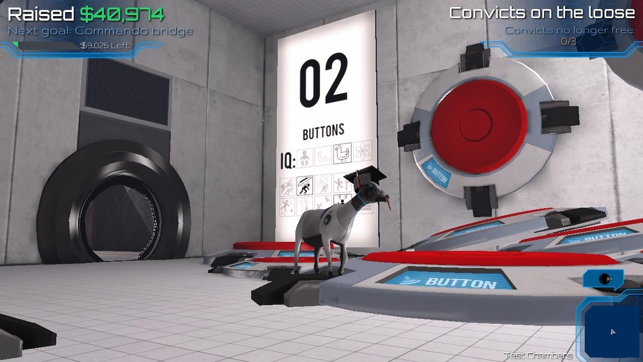 goat simulator どこかでみたようなパズルアクション