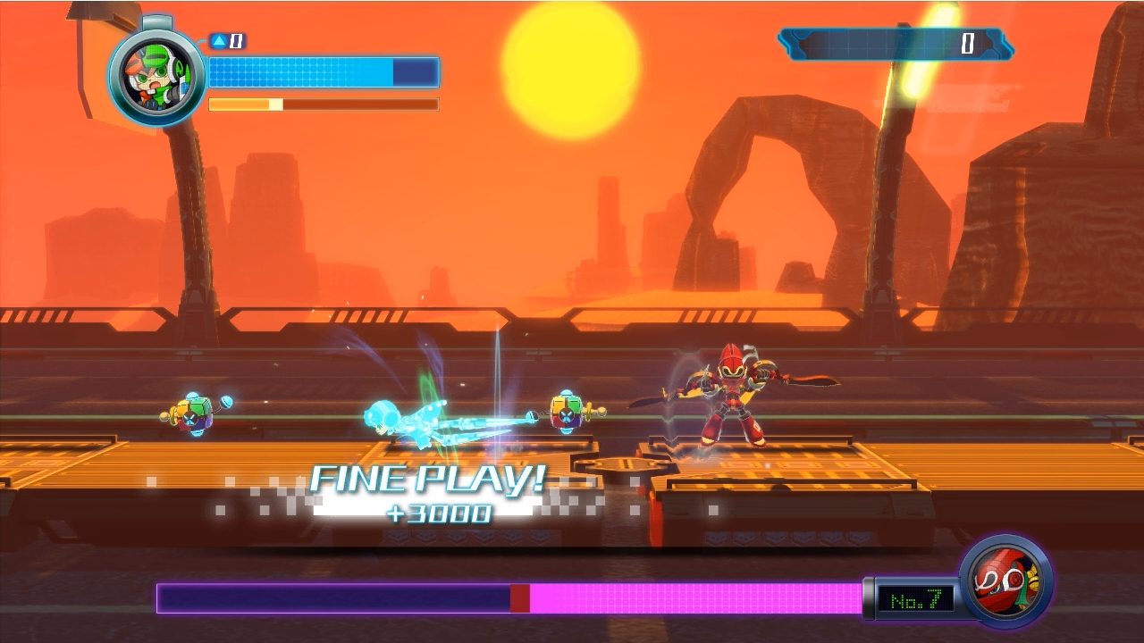 Mighty No.9 ボス戦