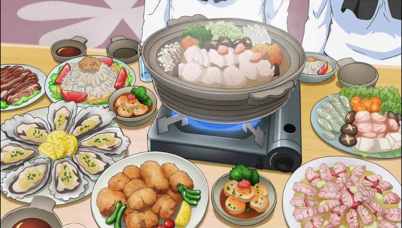 ガルパン劇場版BD 特典OVAよりうまそうな食事