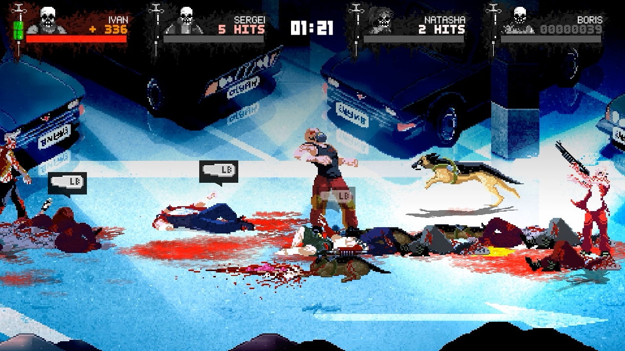 Mother Russia Bleeds AIによるCOOPも可能