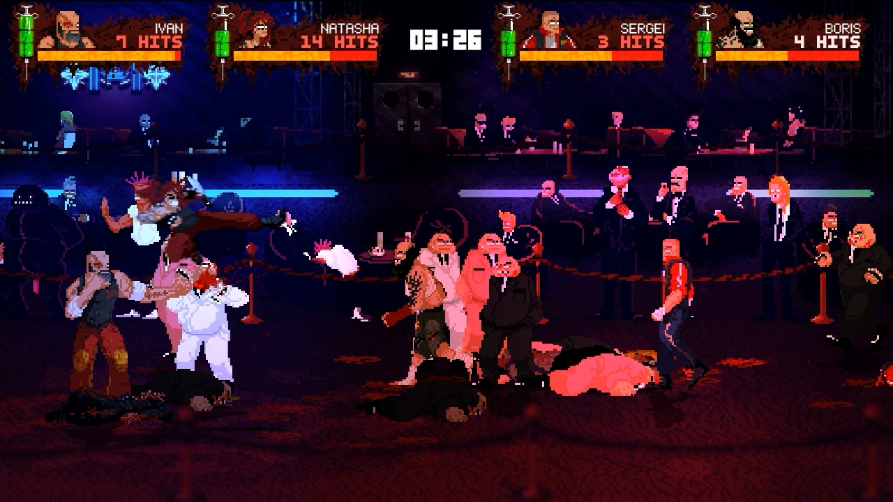 Mother Russia Bleeds レビュー