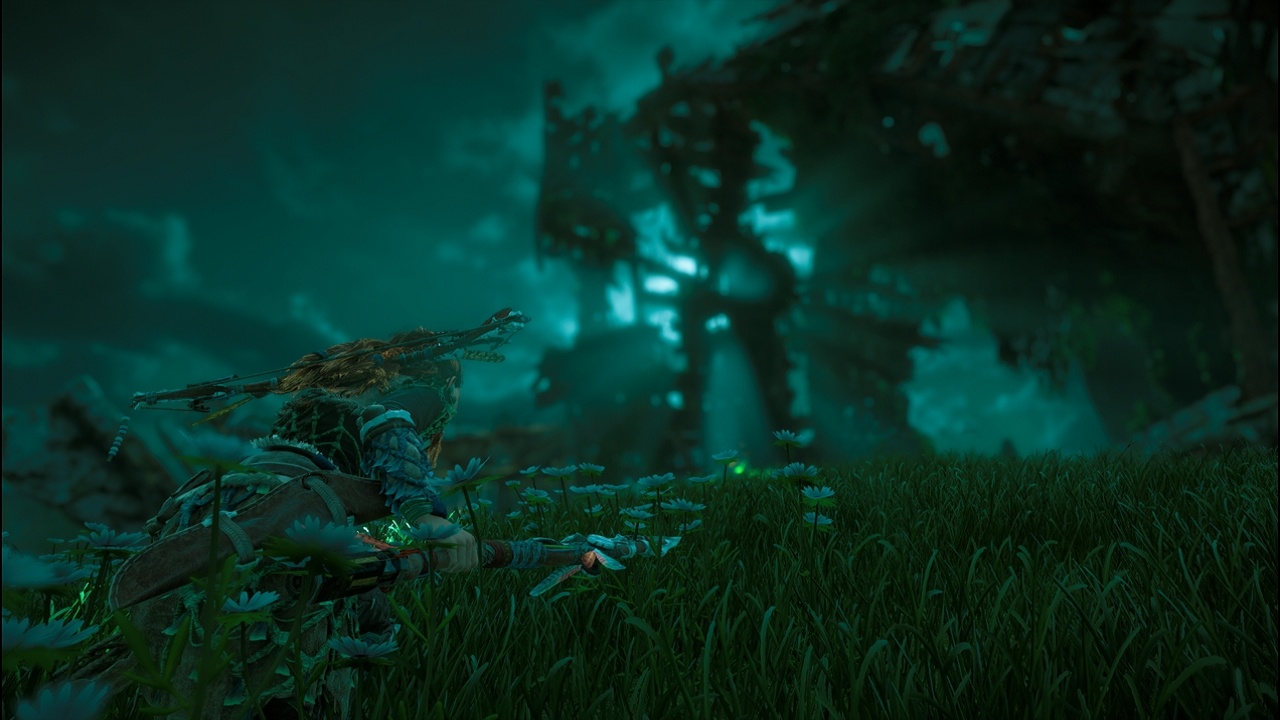 Horizon Zero Dawn 廃墟の月
