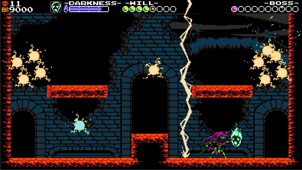 shovel knight specterの回復魔法