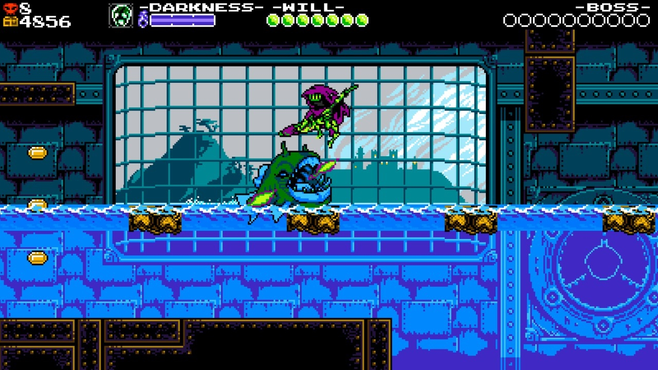 shovel knight Specterの新アクション