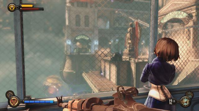 Bioshock Infinite レビュー 可憐なエリザベスと空中都市の
