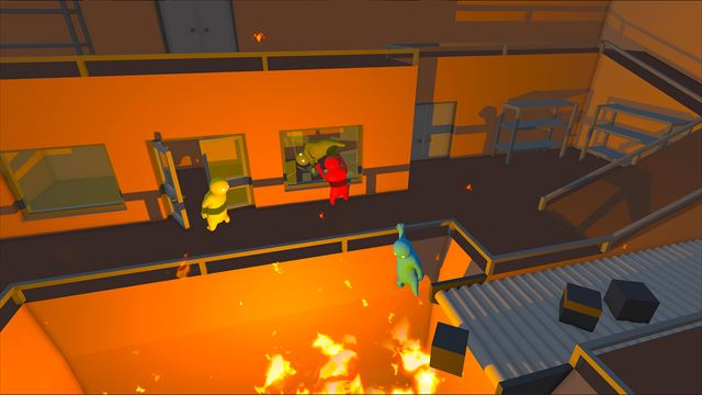 Gang Beasts 物理演算系の残虐ファイト
