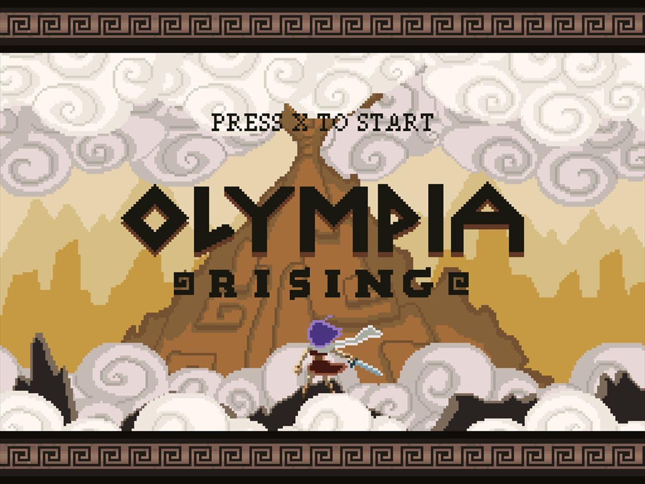 Olympia Rising 登るステージが中心の2Dアクション