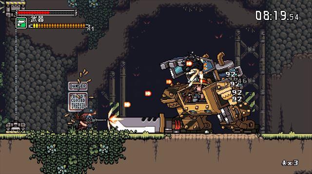 Mercenary KingsのPS Vita版