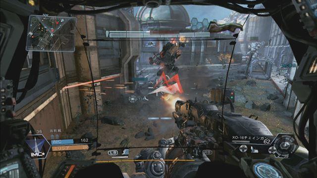 Titanfall Xbox360版 タイタンは味方と連携