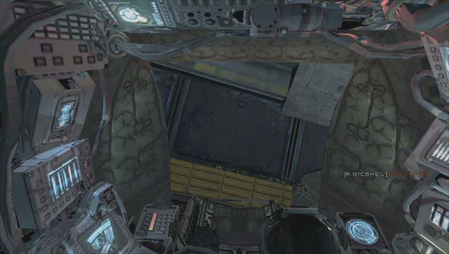 titanfallのXbox360版レビュー タイタンのコクピット