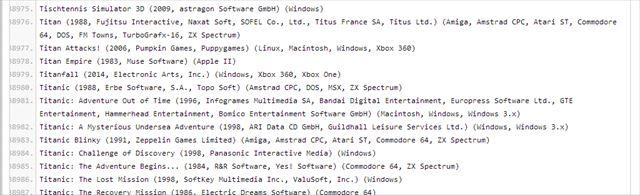 videogamelist