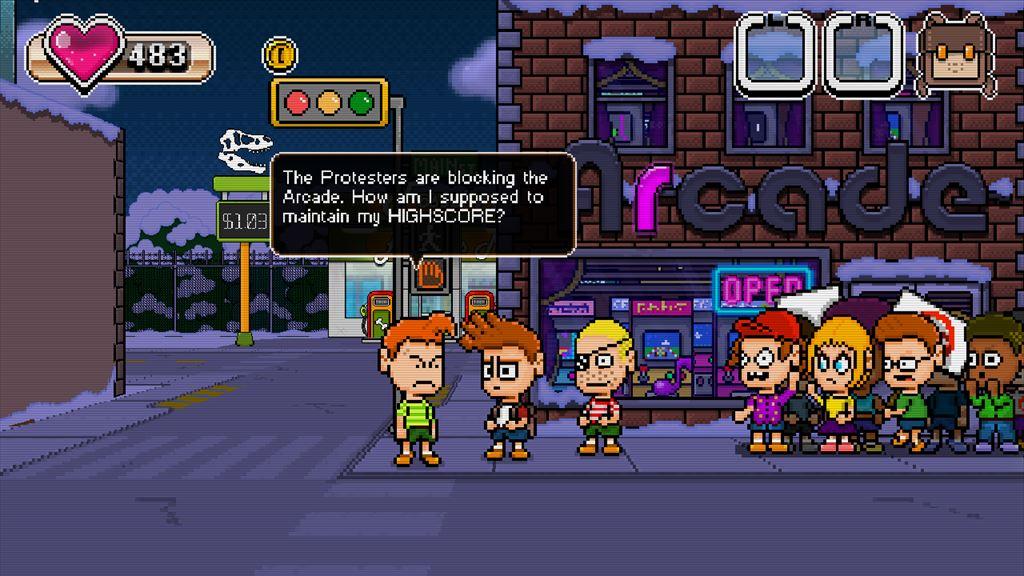 Retro World ゲーム少年時代を追体験できるゲーム