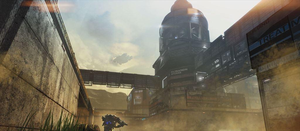 TTitanfall DLC第1弾「Expedition」 浄水場のRunoff
