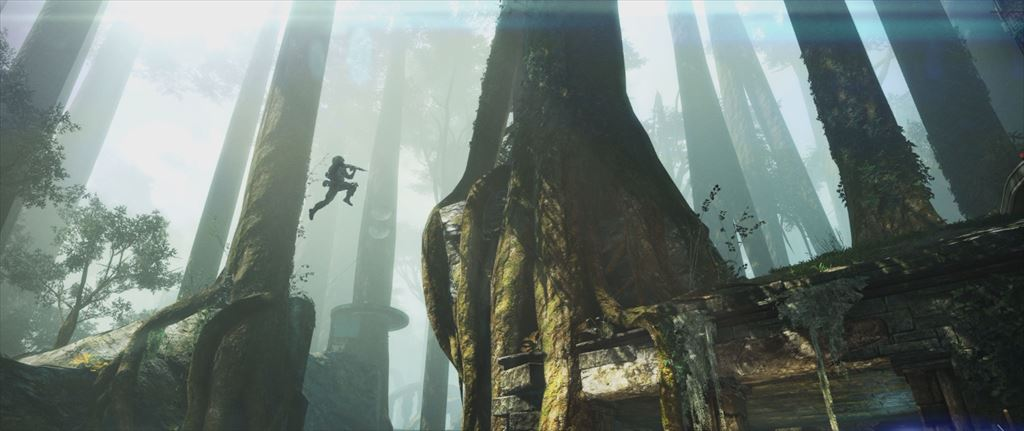Titanfall DLC第1弾「Expedition」 巨木と遺跡のswampland