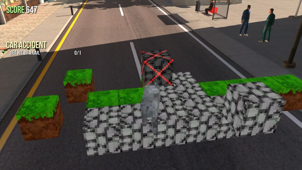 Goat Simulator 1.1 マインクラフト風ヤギで創造活動