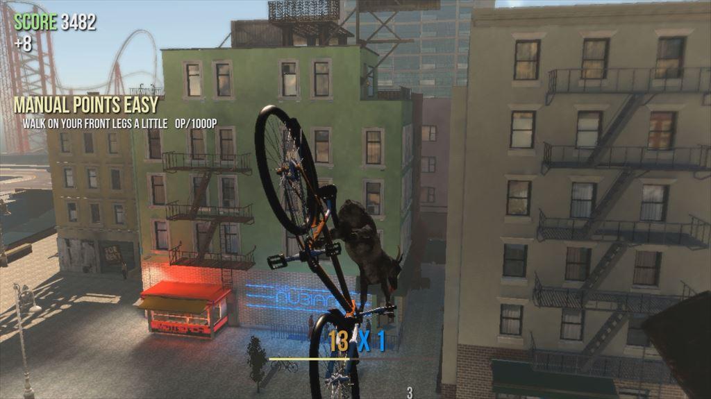 Goat Simulator 1.1 自転車にも乗れる