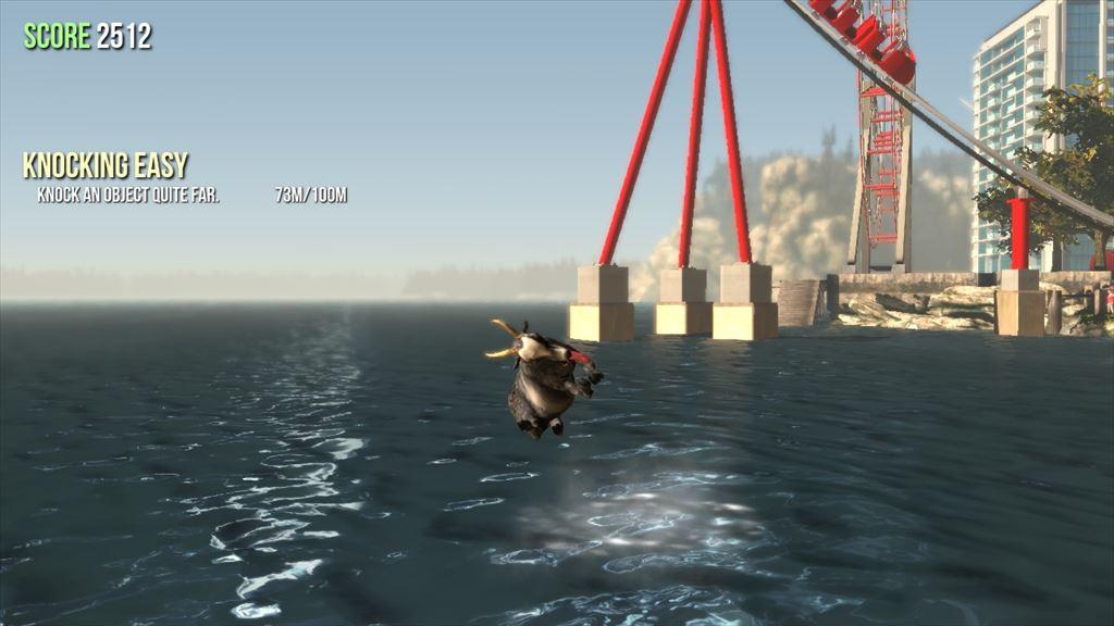 Goat Simulator 1.1 泳げるように