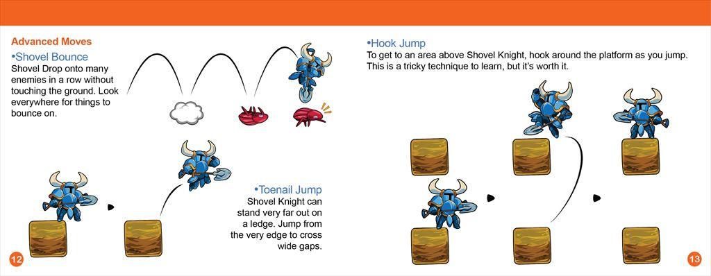 Shovel Knight Manual