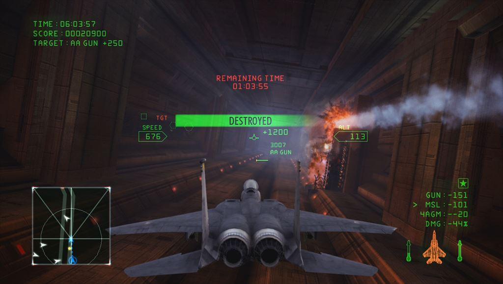 Ace Combat Infinity 追加されたキャンペーンミッション6「Avalon」プレイレビュー