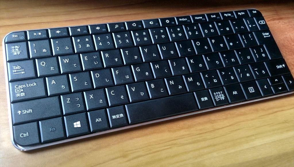 Microsoft Wedge Mobile Keyboard レビュー