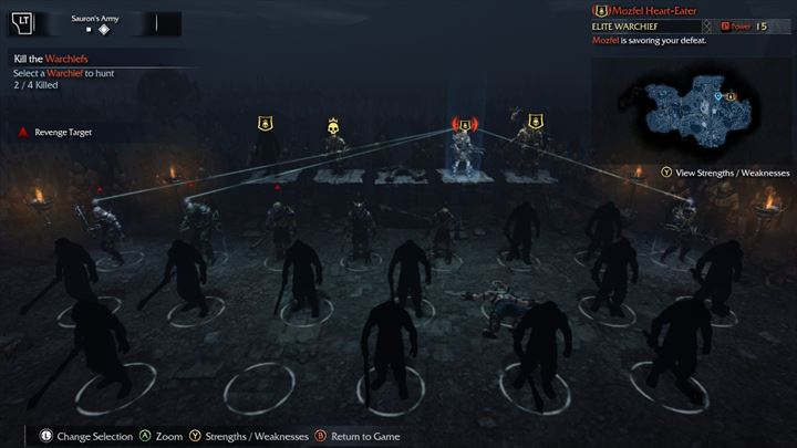 Shadow of Mordor オークの世界