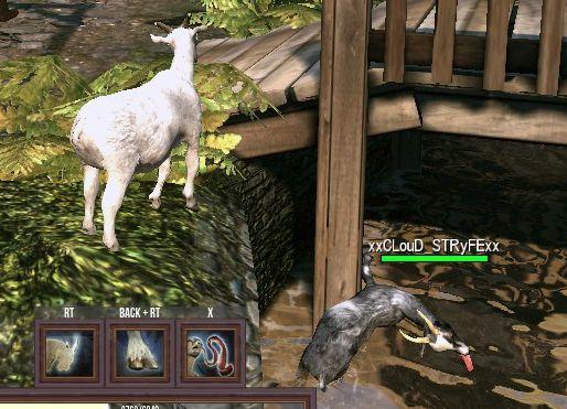 Goat MMO Simulator cloud