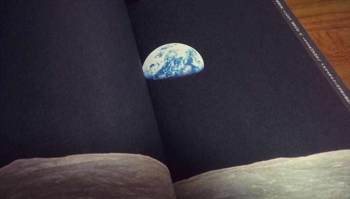 Marketing the Moon earth rise