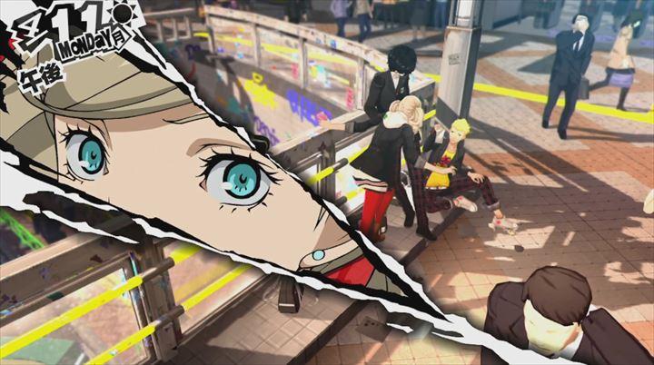 Persona5 会話シーン