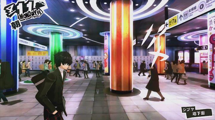 Persona5 シブヤ地下街