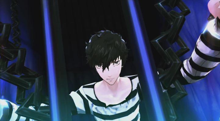 Persona5 囚人服に鉄格子