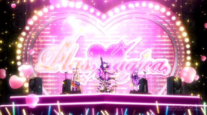 show by rock 徳の高いアニメ
