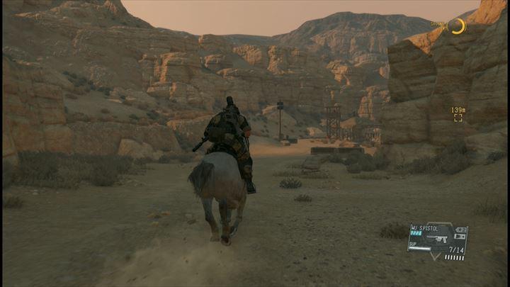 メタルギアソリッド5 馬で世界を駆ける