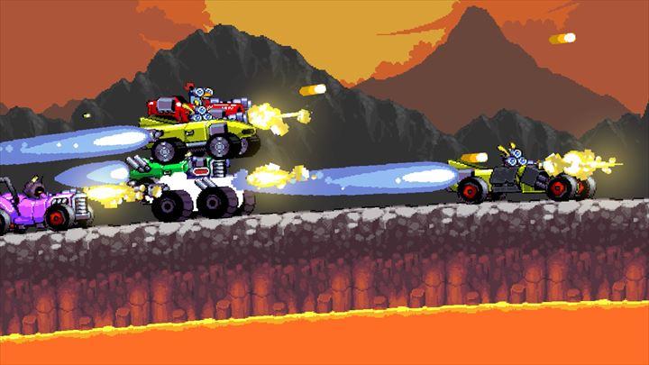 Intergalactic Race Warriors