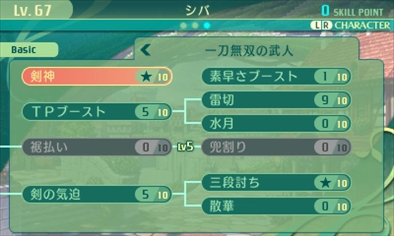 世界樹の迷宮5 スキルツリーと二つ名システム