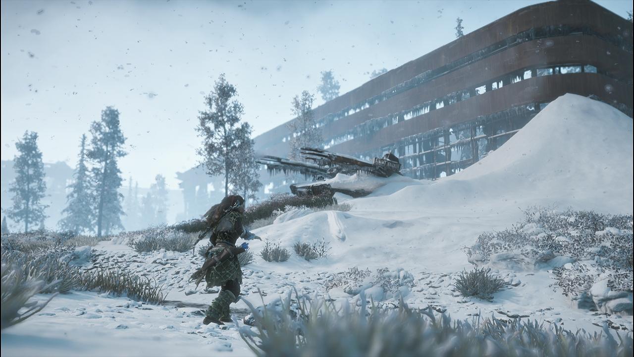Horizon Zero Dawn 雪の廃墟