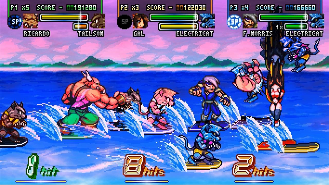 Fight'N Rage キャプテンコマンドーのようなサーフボードステージ